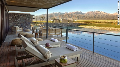 "If you fancy some ""vinotherapy"" after the Olympics, Argentina's Mendoza is your ideal destination."