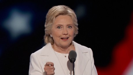 Clinton criticizes Trump for saying he can fix it alone