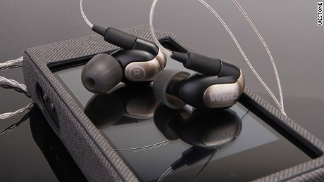 Westone's W60 ear buds retail at $999.99.