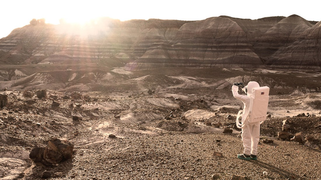 """As with the Wild West, we could imagine a point where Mars would become a touristic destination,"" says Mauve.<br />"