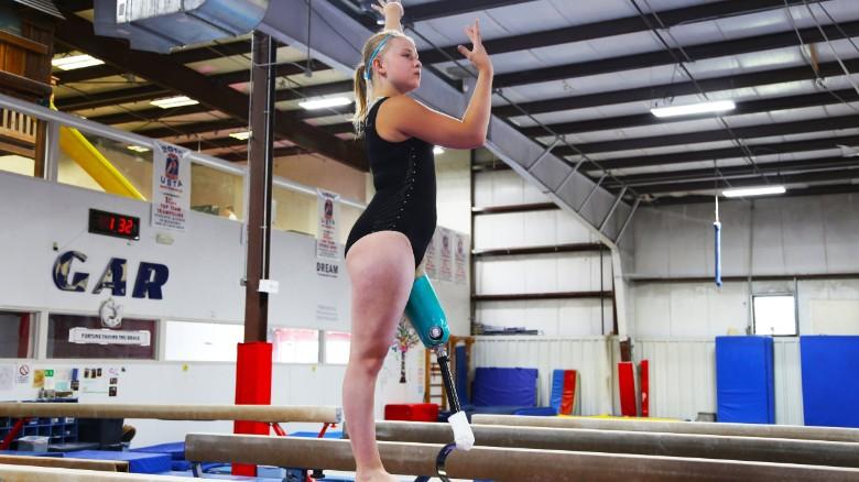 Gymnast's incredible comeback