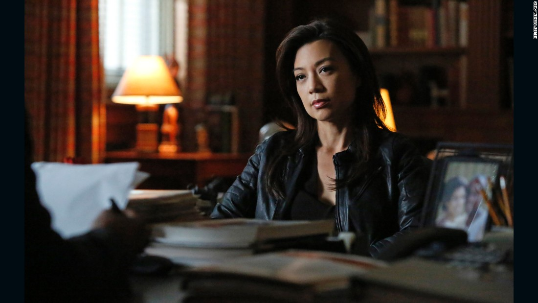 "Ming-Na Wen stars as Agent May in ""Marvel's Agents of S.H.I.E.L.D.""  Wen was the voice of Disney's ""Mulan"" and had a recurring role on ""Two and a Half Men."""