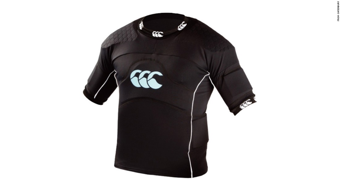 "It may look like any other athletic shirt, but this one is made from a fabric that contains a negatively charged electromagnetic field that is supposed to improve oxygen and blood flow and allow athletes to recover quickly  between training sessions. It was dubbed ""wearable steroids"" by critics, and the World Anti-Doping Agency, which works closely with the International Olympic Committee, was asked to give a ruling. Since the technology has yet been proven to work, the verdict was that it is OK for now."