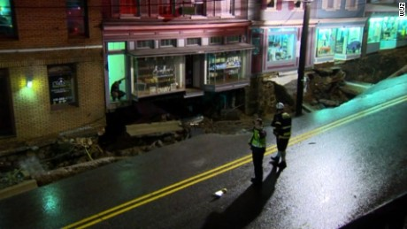 Ellicott City's Main Street was ravaged by the weekend flooding.