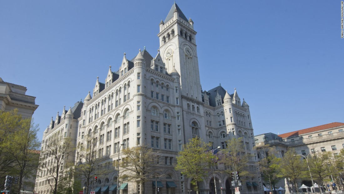 The Old Post Office in Washington is scheduled to open in September as a Trump International Hotel. The building was constructed between 1892 and 1899.