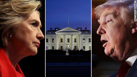Clinton and Trump raise money for presidential transition