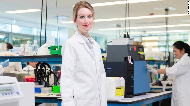 Theranos' founder is trying to start a revolution