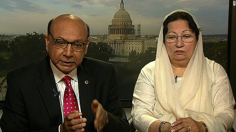 Khizr Khan: Donald Trump needs to listen to America