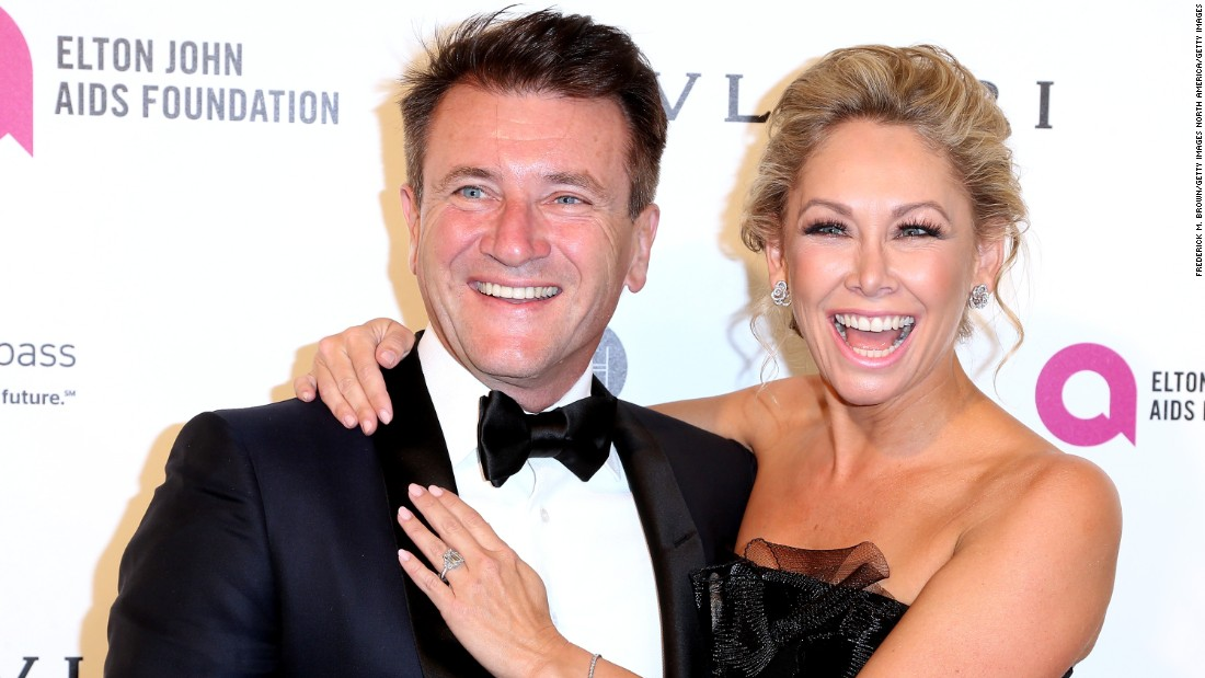 """Shark Tank"" star Robert Herjavec married his former ""Dancing With The Stars"" partner, Kym Johnson, 39, on July 31 in Los Angeles."