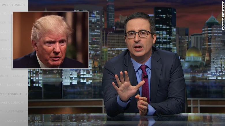 John Oliver blasts Trump for Comey firing