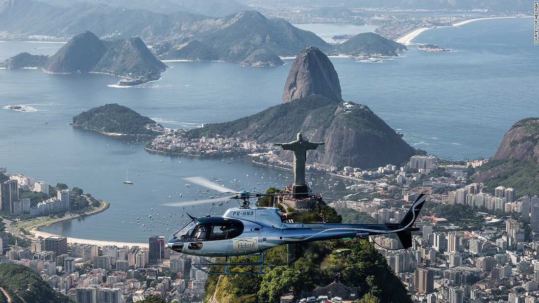 All eyes are on Rio this month, but what better way to view the city than from the air? Helisight offers seven chopper routes over Brazil's Wonderful City.