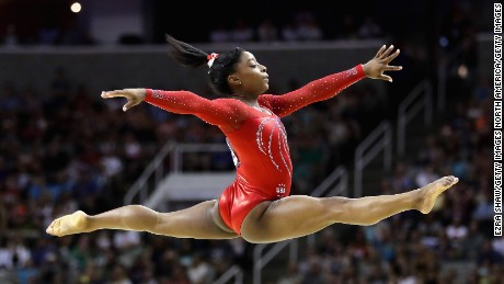 Simone Biles expected to dominate in Rio Olympics