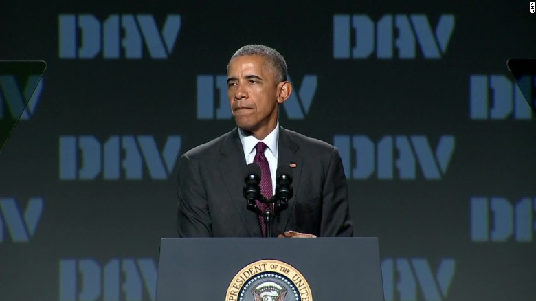 Obama: Gold Star families represent the best of America