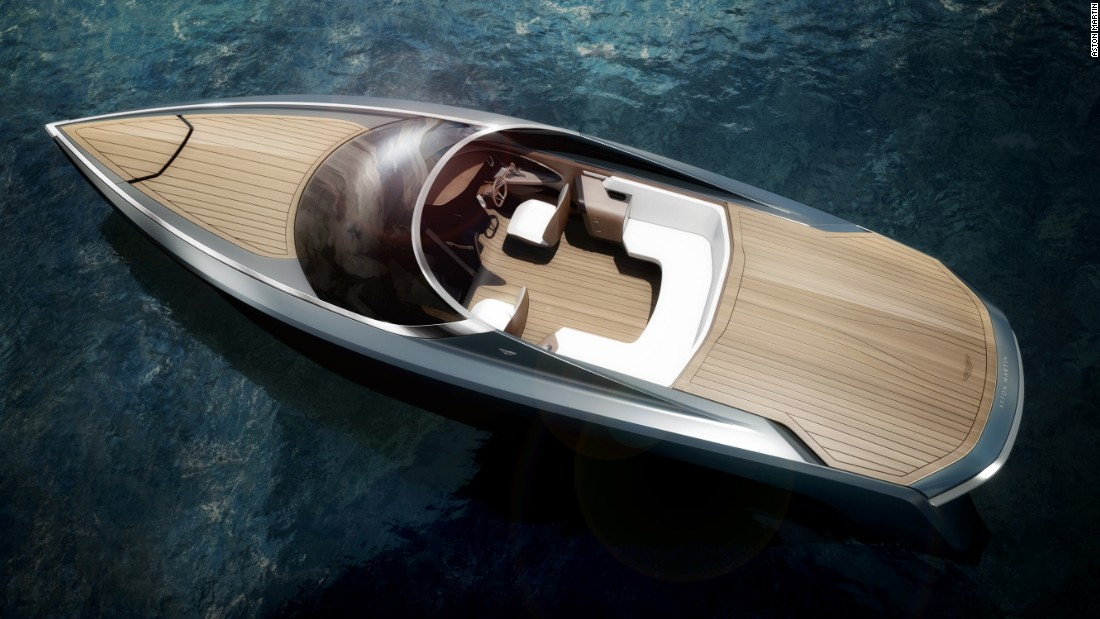 "British sports car maker Aston Martin announced a partnership with Quintessence Yachts in January 2016 to create a series of unique powerboats. ""We are sure that the Aston Martin ethos of ""Power, Beauty and Soul"" can be successfully translated into the yachting environment in a very special way,"" said Mariella Mengozzi, CEO at Quintessence Yachts."