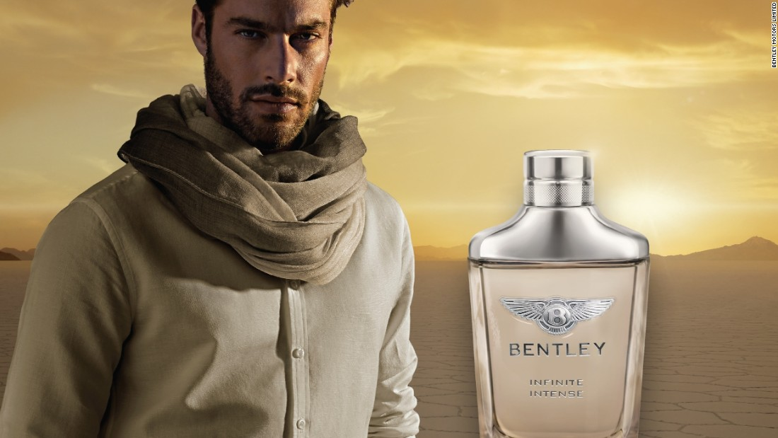 "In 2015 Bentley launch its new 'Infinite' fragrance for men. Bentley says it's ""modern and alluring"" and ""embodies a desire for genuine freedom and individuality, inherent qualities in the DNA of the world's leading luxury carmaker""."
