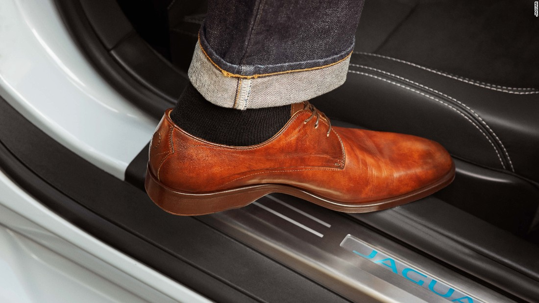 Legendary British car maker Jaguar has co-developed a range of shoes with another famous British brand, Oliver Sweeney. Designed and developed using similar processes to those adopted by Jaguar design, the 'Jaguar by Oliver Sweeney' range of formal driving shoes are priced at $425 (£325).