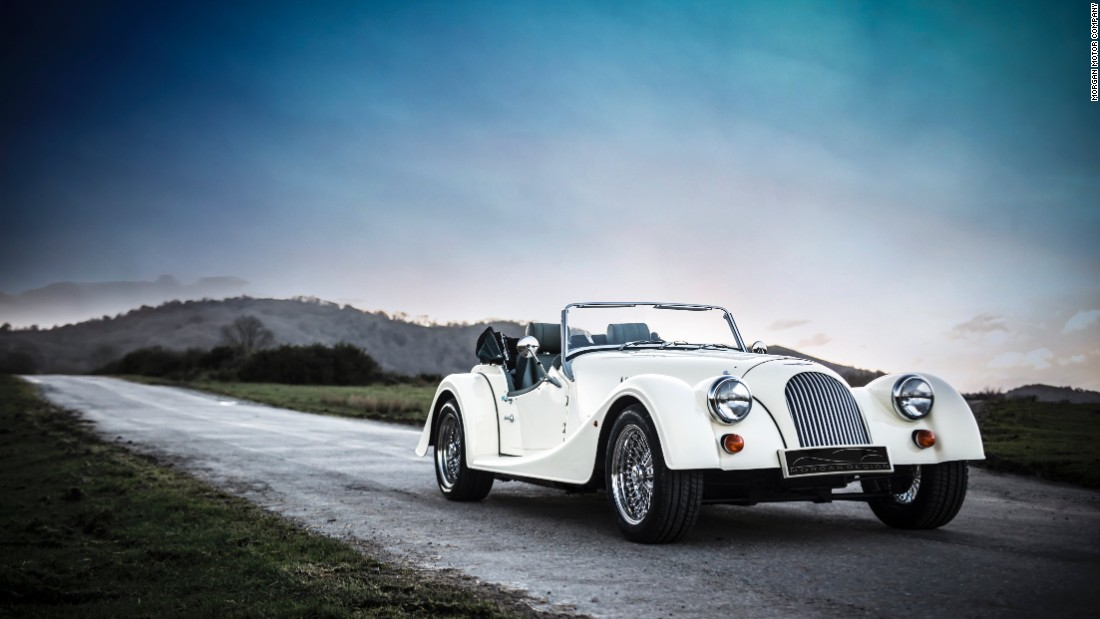 It's hard to believe it, but the Morgan Roadster is an existing production car, produced by a British car company that's only slightly less eccentric than Bristol was in its heyday. The car's construction is a mix of steel, aluminium and ash wood (yes, really), and its V6 engine is enough to take it from 0-62mph in just 5.5 seconds. Traditional manufacturing techniques mean the average wait for a Roadster is around six months.