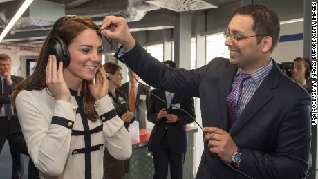 "Catherine, Duchess of Cambridge, patron of Ainslie's 1851 Trust, opened the ""Tech Deck"" Education Center at the team's Portsmouth base in May."