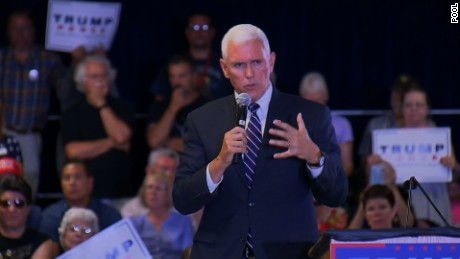 NS Slug: NV: PENCE: CAPT KHAN IS AN AMERICAN HERO  Synopsis: Mother of service member booed over Khan question at Mike Pence rally; Pence responds  Keywords: 2016 ELECTION NEVADA REPUBLICAN POLITICS PRESIDENTIAL CANDIDATE