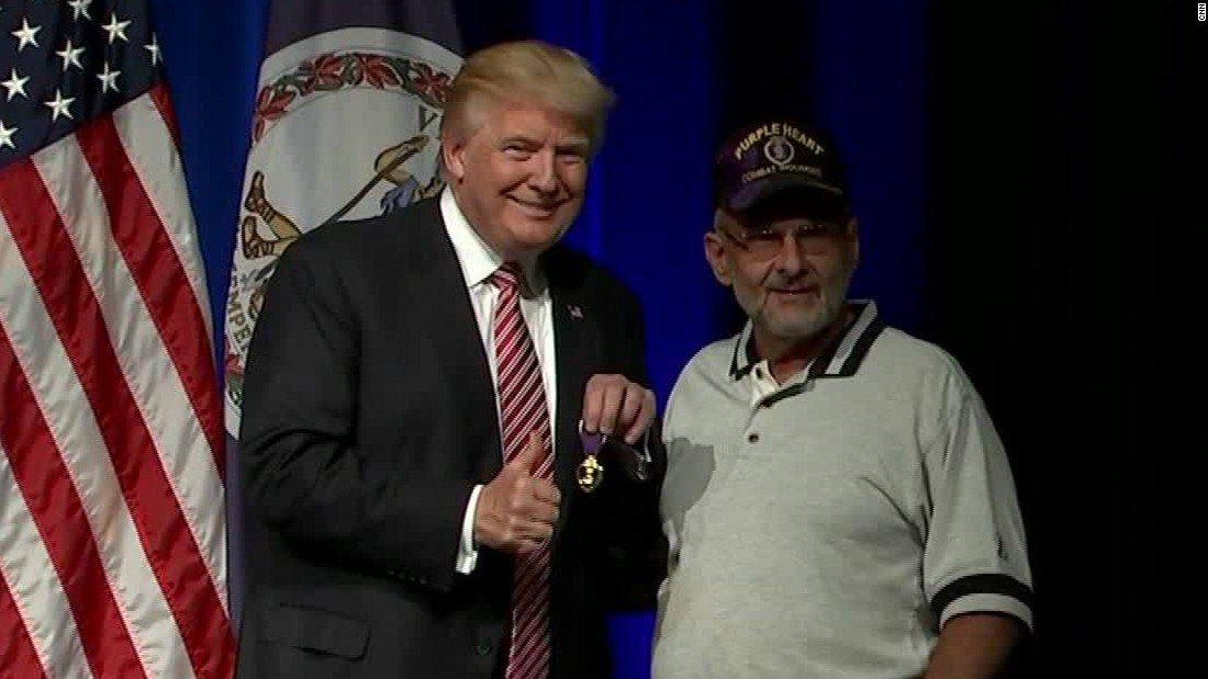 Donald Trump on military service: 'I've regretted not ...