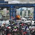 Jakarta traffic three