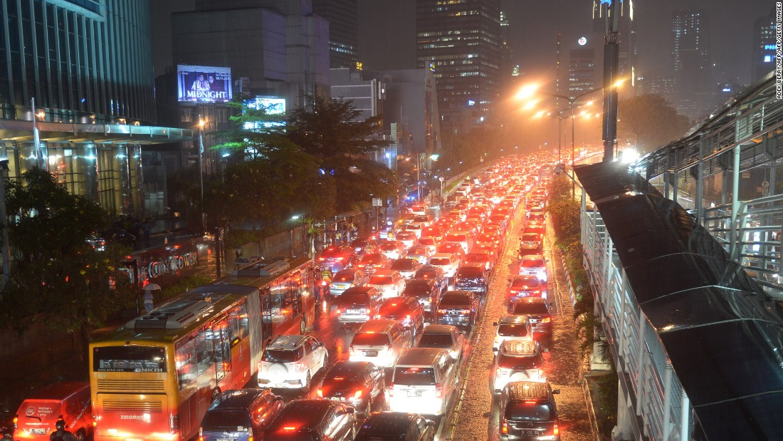 jakarta indonesia traffic - photo #41
