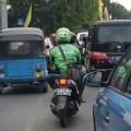 Jakarta traffic five Go-jek