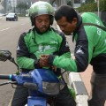 Jakarta traffic 8 go-jek