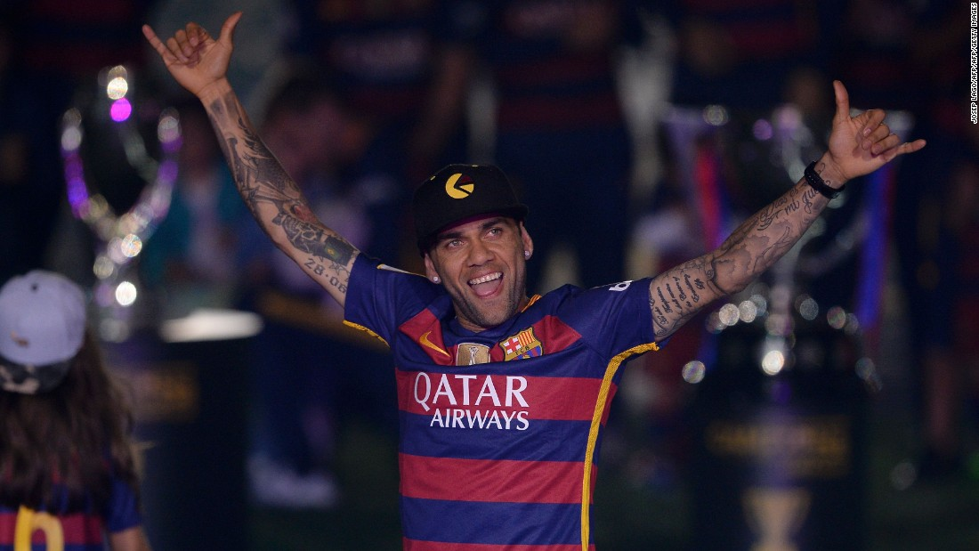 Juventus signed Brazilian defender Dani Alves on a free transfer from Barcelona on June 27 after his contract at the Spanish club expired.