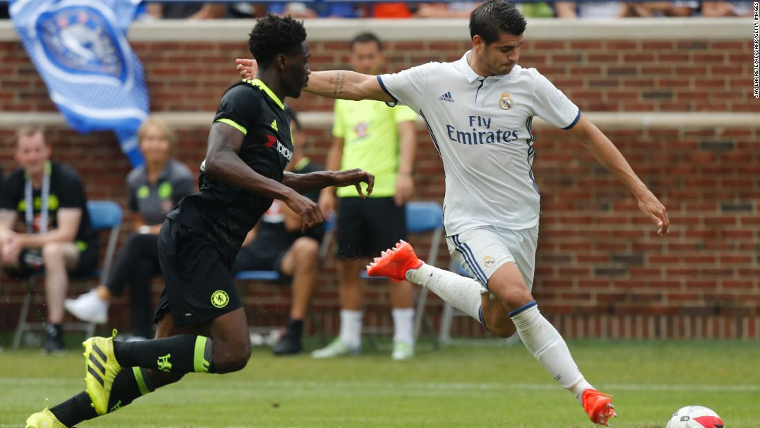 On June 21, Real Madrid activated the €30 million ($34 million)  buy-back clause for Spain striker Alvaro Morata -- who it had sold to Juventus for  €20 million ($22.3 million)  in 2014.