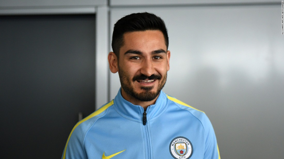 On June 2, Germany midfielder llkay Gundogan became Guardiola's first City signing, joining for a reported £20 million ($26 million) fee from Borussia Dortmund.