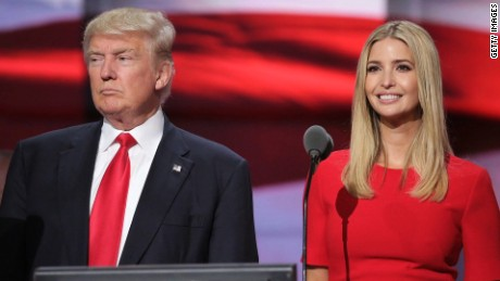 Ivanka Trump returns quietly to campaign trail, faces no questions about allegations against her dad