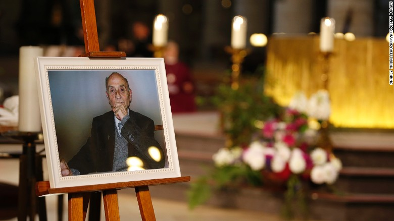the slain French priest Jacques Hamel