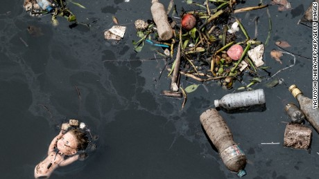 Pollution threat muddies waters as Games draw near