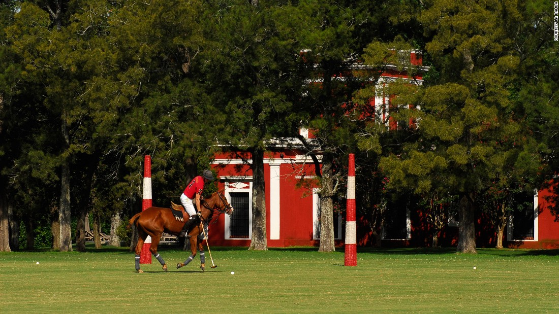"One of the country's oldest estancias,<a href=""http://www.labambadeareco.com/"" target=""_blank""> La Bamba</a> dates back to 1830 and is  just a few hours from Buenos Aires."