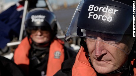 The Border Force has three vessels patrolling the UK coastline, which it says isn't enough.