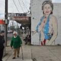 australian artist clinton mural