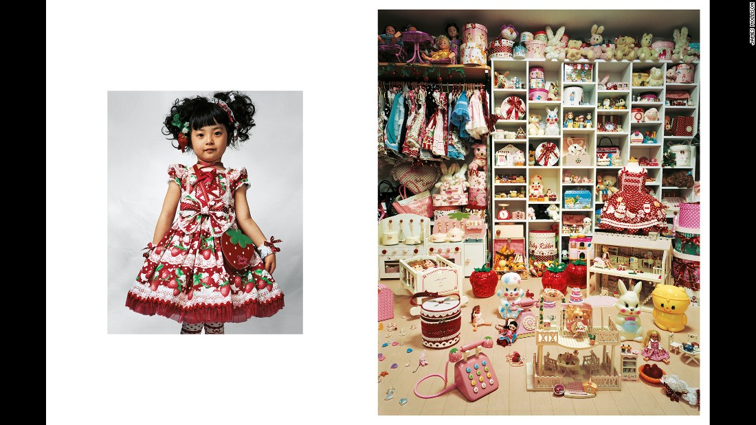 "A world of poverty and privilege is portrayed in <a href=""http://jamesmollison.com/books/where-children-sleep/"" target=""_blank"">""Where Children Sleep,""</a> a photo series by James Mollison, which depicts children's bedrooms around the world. Pictured is 4-year-old Kaya, who lives in a small apartment with her parents in Tokyo."