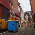 melania trump australia street art