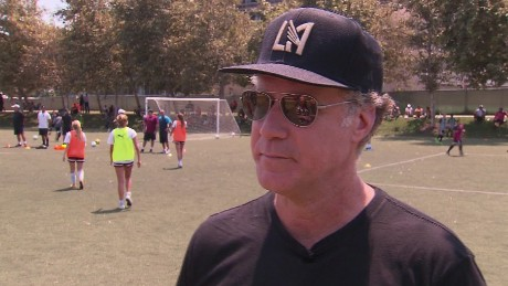 Will Ferrell on Leicester in Los Angeles