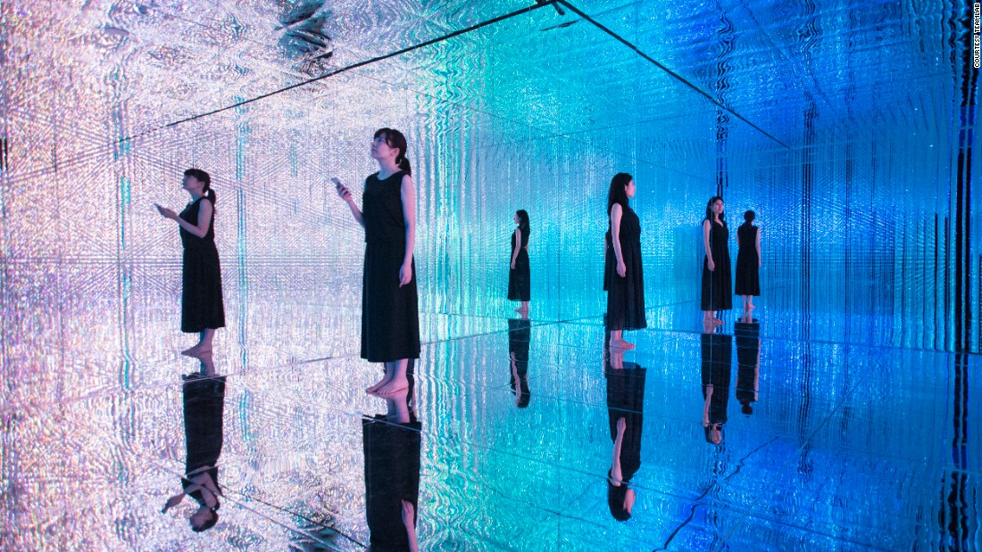 "Technology and art collided at DMM.Planets Art, one of Japan's largest art exhibitions to date. Tokyo-based artist collective <a href=""https://www.team-lab.net/"" target=""_blank"">teamLab</a> created interactive installations in a 3,000-square-meter exhibition space full of LED lights. This interactive exhibit changes structure, color and movement according to each visitor's movement."
