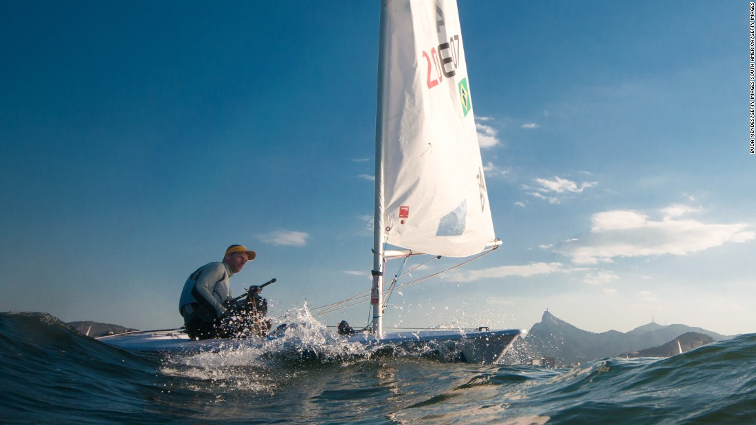 Robert Scheidt won two Olympic titles for Brazil in sailing's Laser class before switching to the Star class. Star is now out of the Olympics, so Scheidt is back in a Laser for what should be his final Olympic appearance.<br />