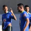 Brazil's olympic hopes neymar and rafinha rio 2016 football