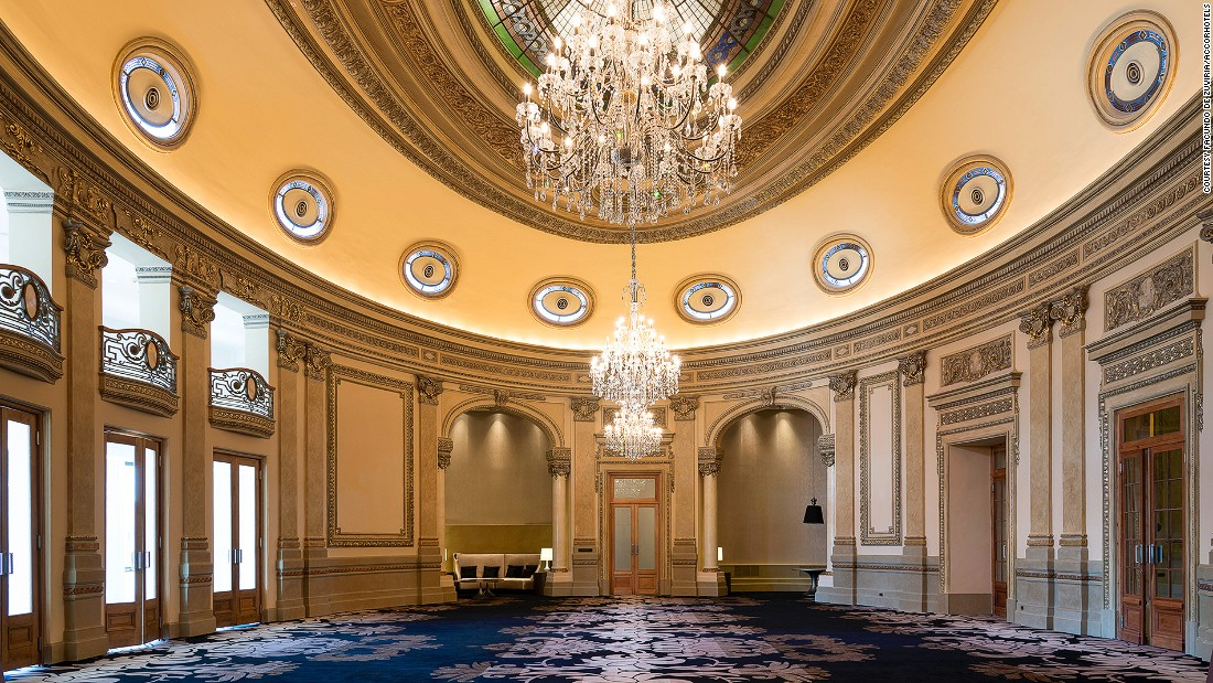 Recently restored to its former glory by Sofitel, the hotel has accommodated many notable guests, including Albert Einstein.