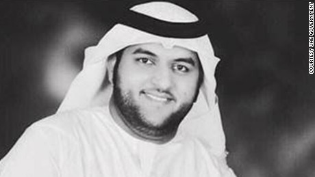 "Firefighter Jassim Essa Al-Baloushi was killed ""while saving the lives of others,"" the Dubai media office said."
