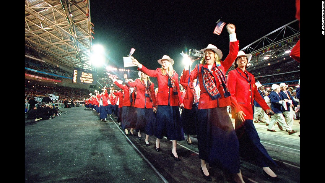 <strong>Sydney, 2000:</strong> Did you know the American populace is actually just one very large square dancing team?