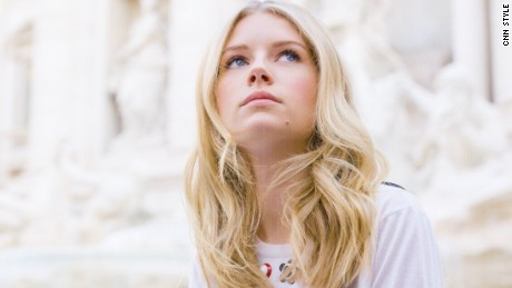 Alone at the Trevi: Immerse yourself in Roman history with model Lottie Moss
