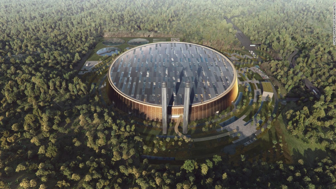 A project from Schmidt Hammer Lassen Architects and Gottlieb Paludan Architects, the upcoming Shenzhen East Waste-to-Energy Plant will be the largest of its kind in the world.