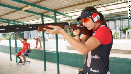 Bassil, 27, is tipped to become Lebanon's first ever Olympic gold medalist.