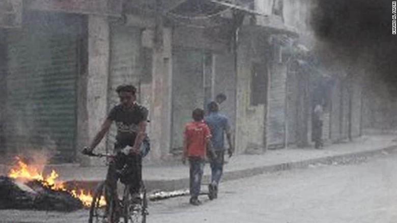 aleppo syria corridor opens damon pkg_00013525
